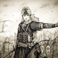 Воины-женщины в рядах кызылбашской армии Сефевидов