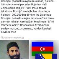 Помощь Гаджи Зейналабдин Тагиева османским тюркам и боснийцам